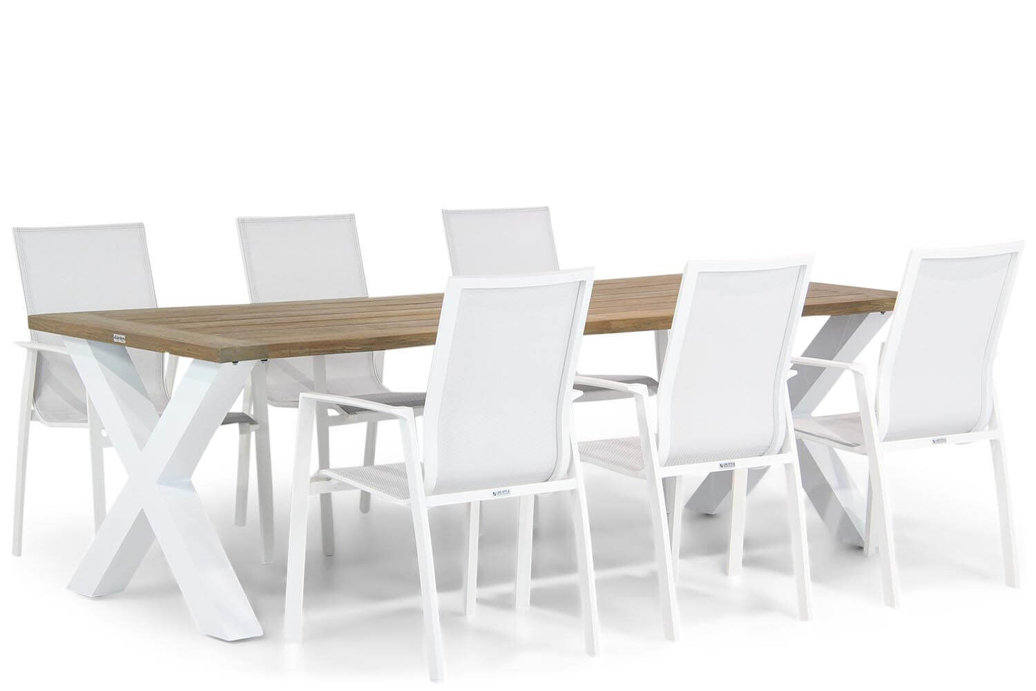 Lifestyle Ultimate/Cardiff 240 cm dining tuinset 7-delig