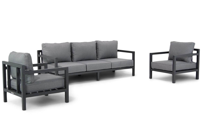 Lifestyle Lagos stoel-bank loungeset 3-delig