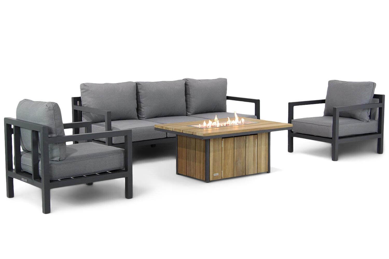 Lifestyle Lagos/Seaside stoel-bank loungeset 4-delig