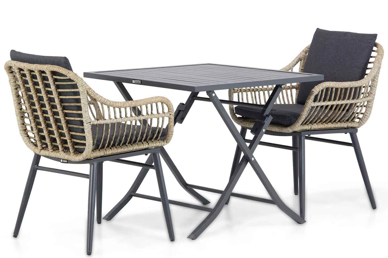 Coco Leonardo/Nicola 80 cm dining tuinset 3-delig