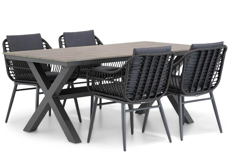 Coco Leonardo/Forest 180 cm dining tuinset 5-delig