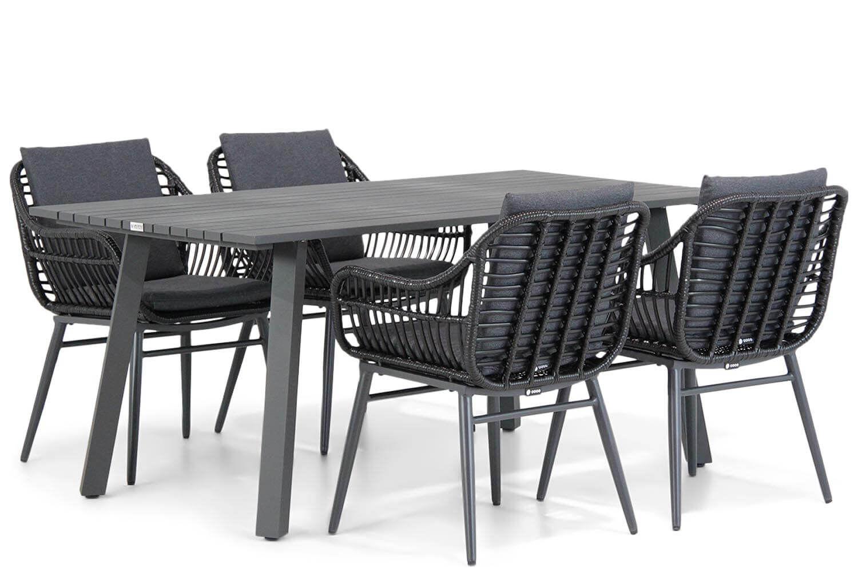Coco Leonardo/Villagio 170 cm dining tuinset 5-delig