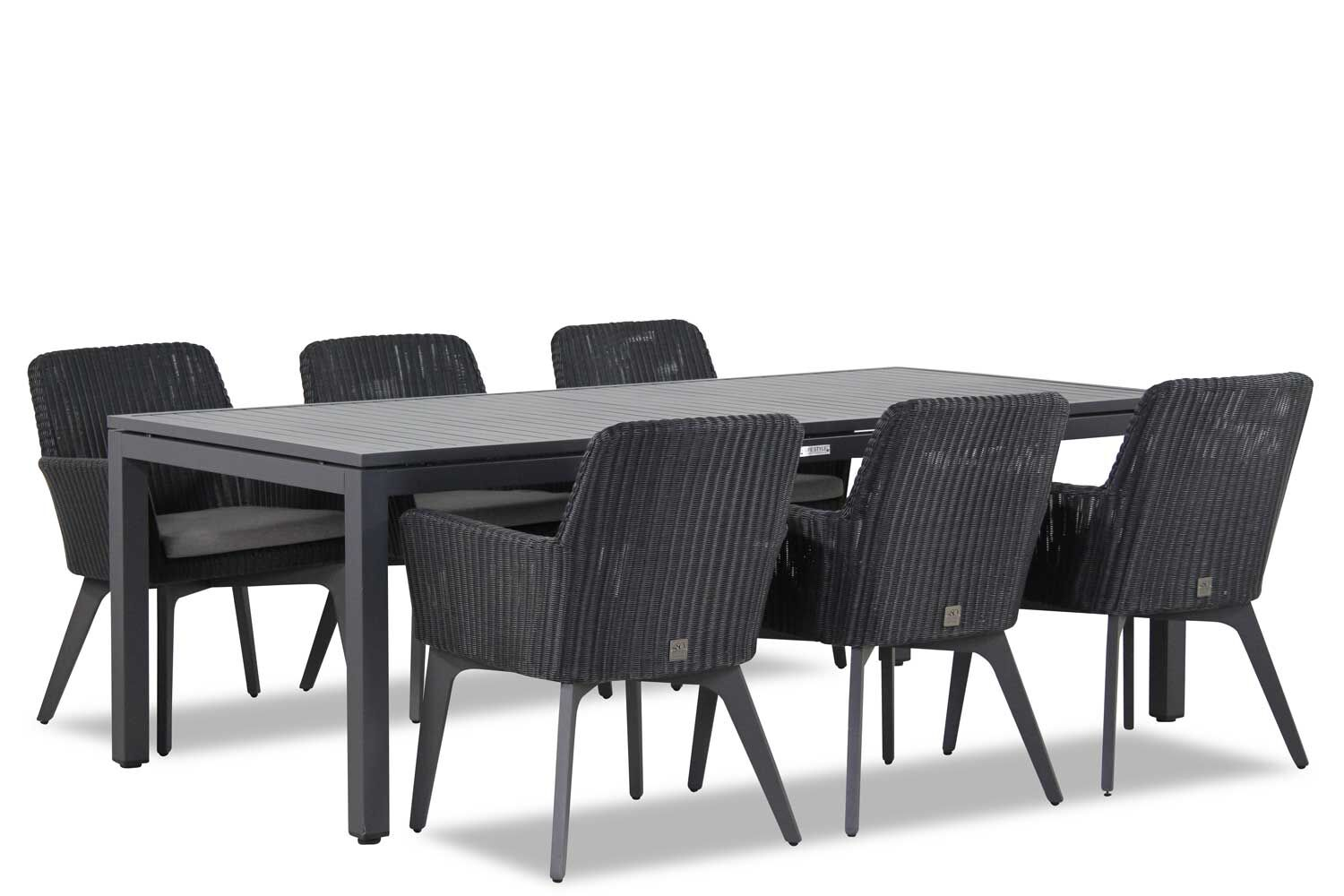 4 Seasons Outdoor Lisboa/Concept 220 cm dining tuinset 7-delig