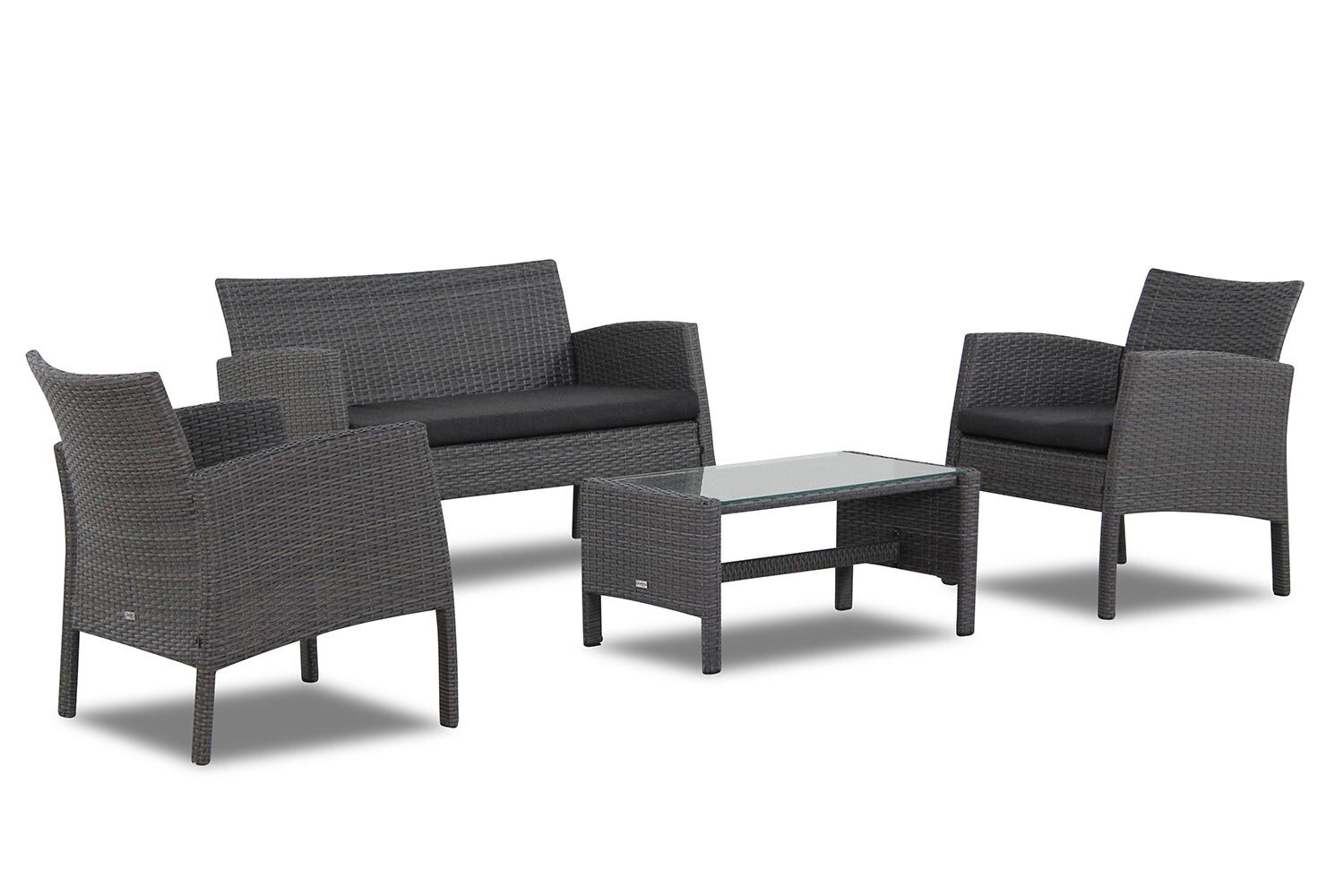 Garden Collections Alabama wicker loungeset