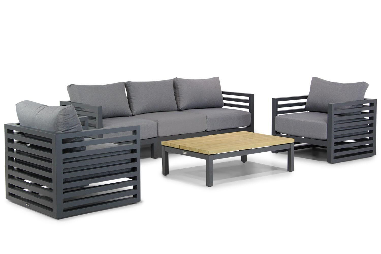 Santika Jaya/Riviera stoel-bank loungeset 6-delig