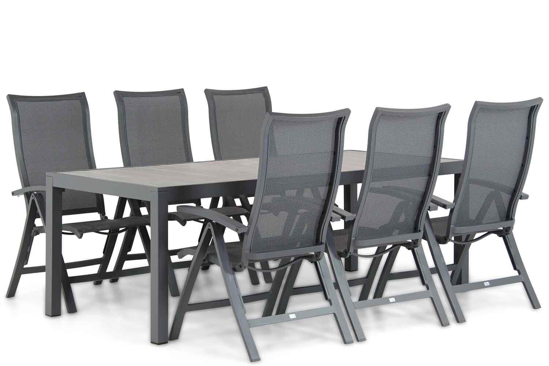 Presto Lucardo/Residence 220 cm dining tuinset 7-delig