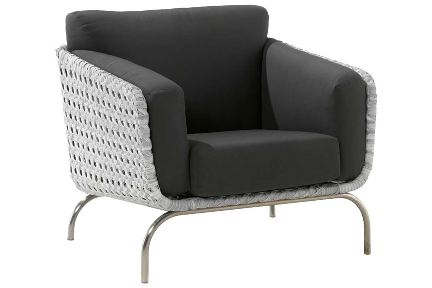 4 Seasons Outdoor Luton living chair with 4 cushions and cover