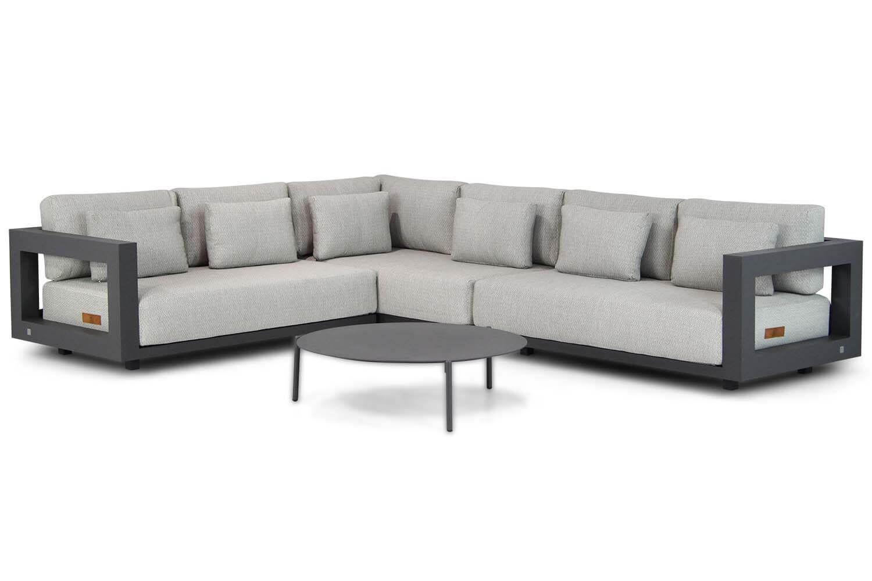 4 Seasons Outdoor Metropolitan/Coco Pacific 100 cm hoek loungeset 4-delig