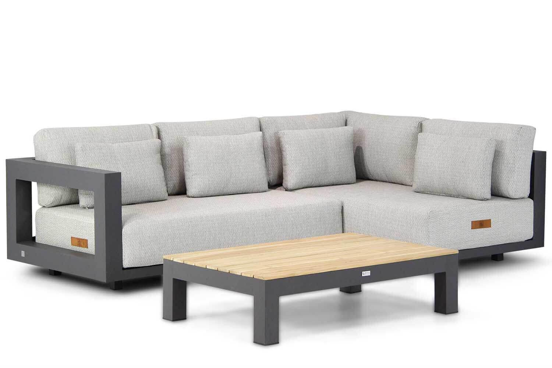 4 Seasons Outdoor Metropolitan/Lifestyle Ravalla 120 cm hoek loungeset 3-delig