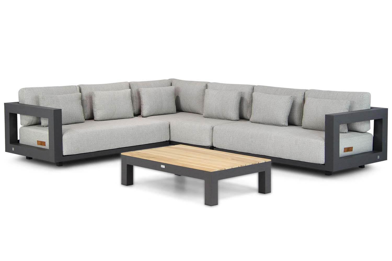 4 Seasons Outdoor Metropolitan/Lifestyle Ravalla 120 cm hoek loungeset 4-delig