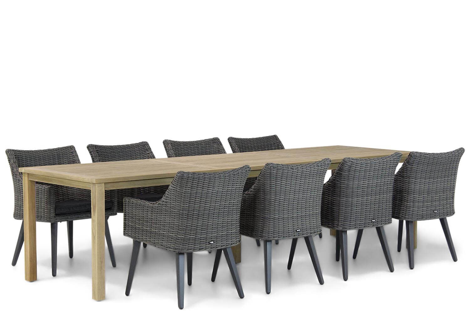 Garden Collections Milton/Weston 300 cm dining tuinset 9-delig