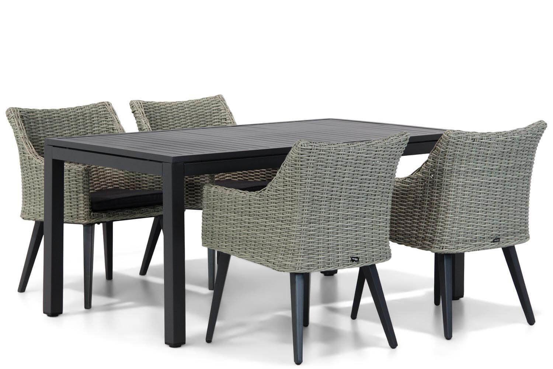 Garden Collections Milton/Concept 160 cm dining tuinset 5-delig