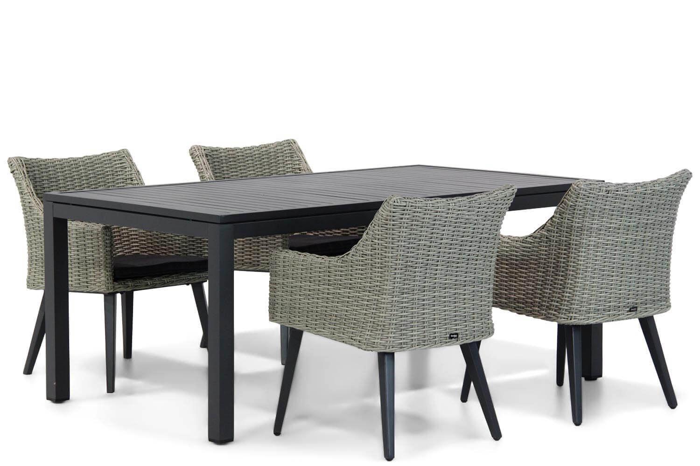 Garden Collections Milton/Concept 180 cm dining tuinset 5-delig