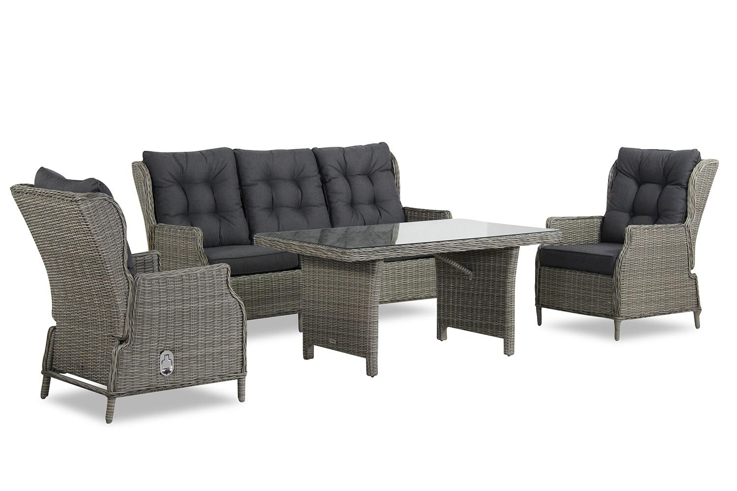Garden Collections New Castle dining loungeset 4-delig
