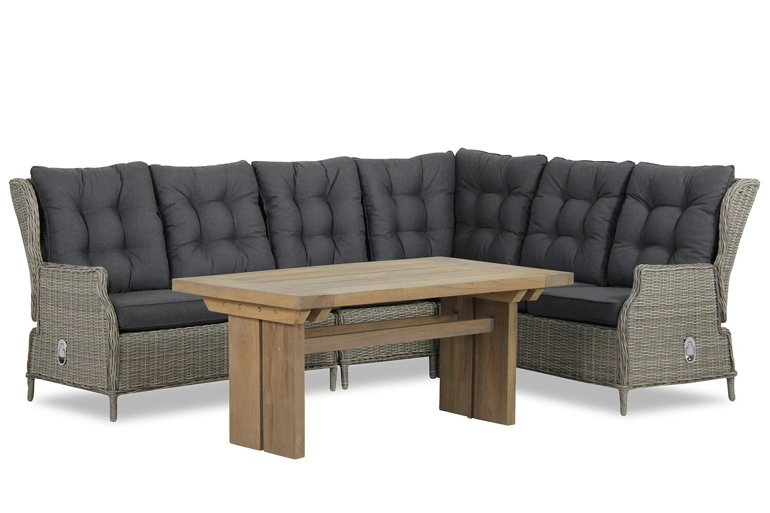 Garden Collections New Castle/Brighton dining loungeset 5-delig