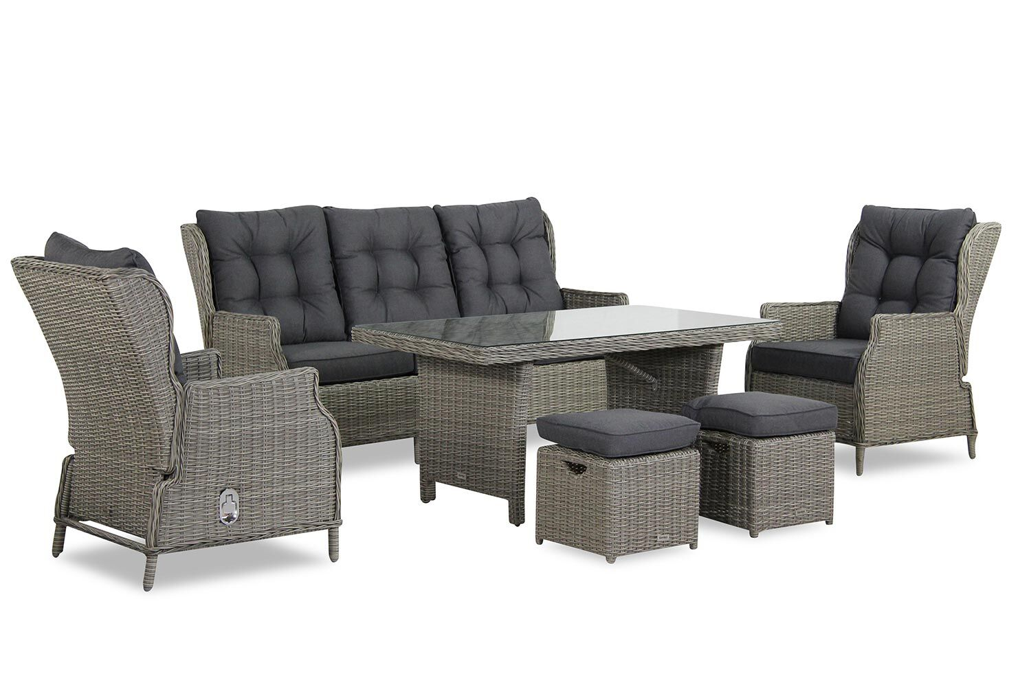 Garden Collections New Castle dining loungeset 6-delig