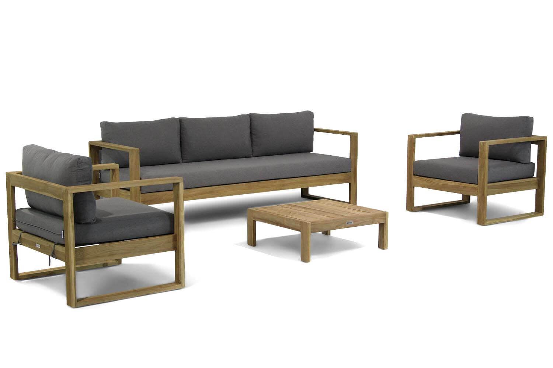 Lifestyle Marriott stoel-bank loungeset 4-delig