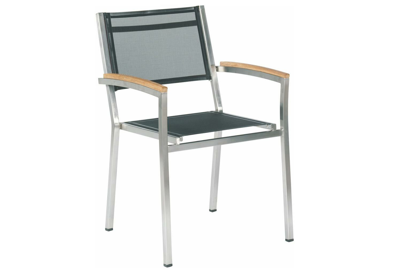 4 Seasons Outdoor Nexxt stackable chair Black