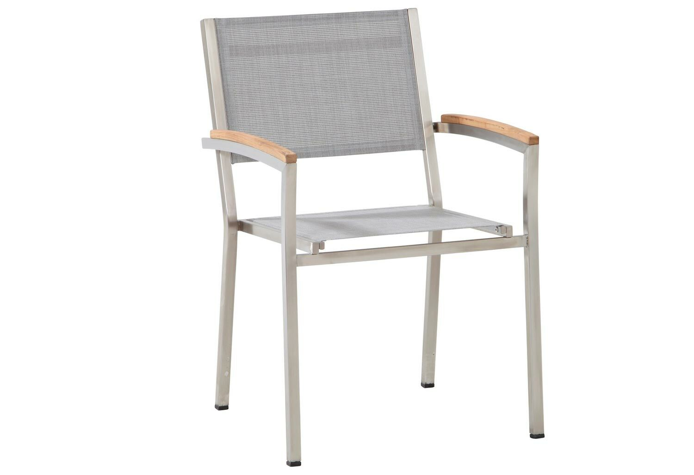 4 Seasons Outdoor Nexxt stackable chair Ashgrey