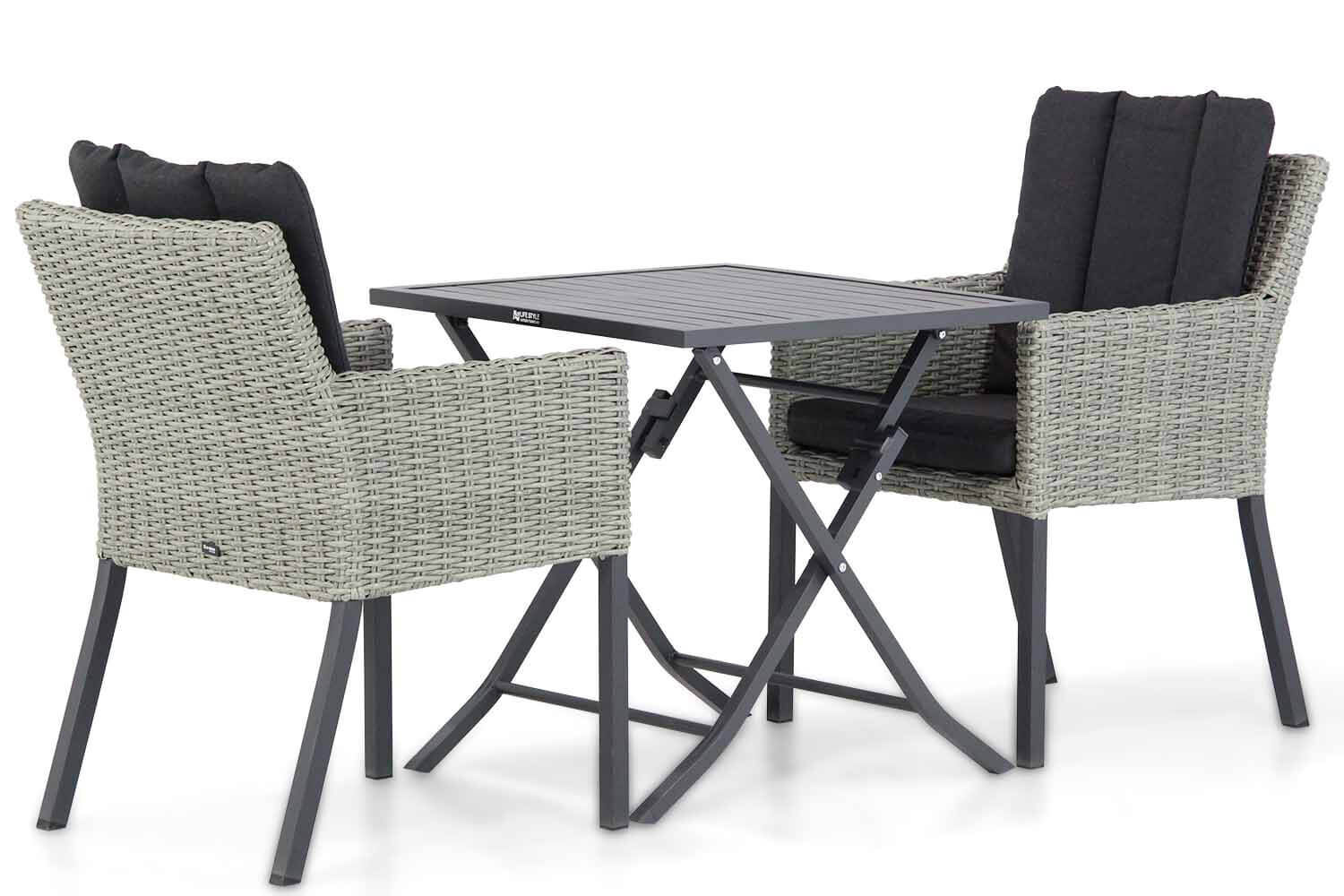 Garden Collections Oxbow/Nicola 70 cm dining tuinset 3-delig