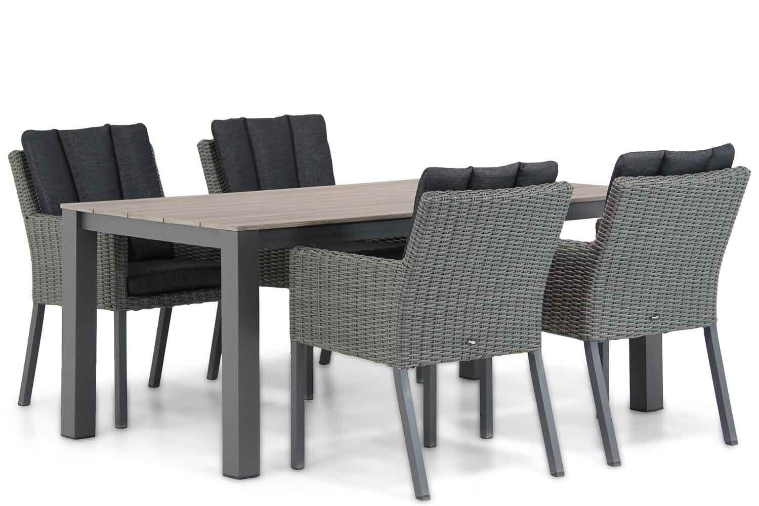 Garden Collections Oxbow/Valley 180 cm dining tuinset 5-delig