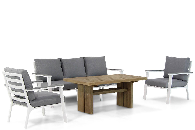 Lifestyle Palazzo/Brighton 140 cm stoel-bank loungeset 4-delig