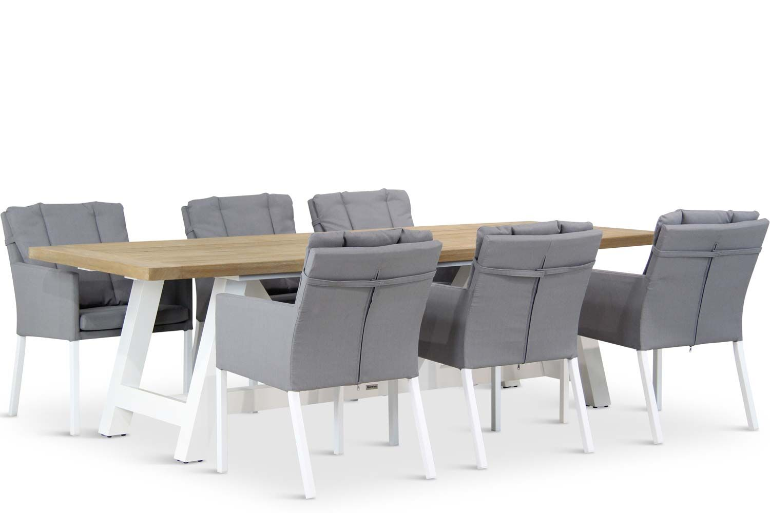 Lifestyle Parma/Florence 260 cm dining tuinset 7-delig