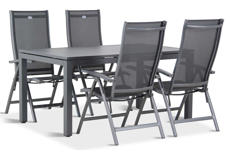 Hartman Salvatore/Concept 180 cm dining tuinset 5-delig