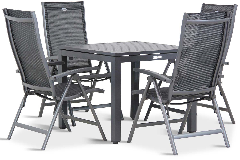 Hartman Salvatore/Concept 90 cm dining tuinset 5-delig