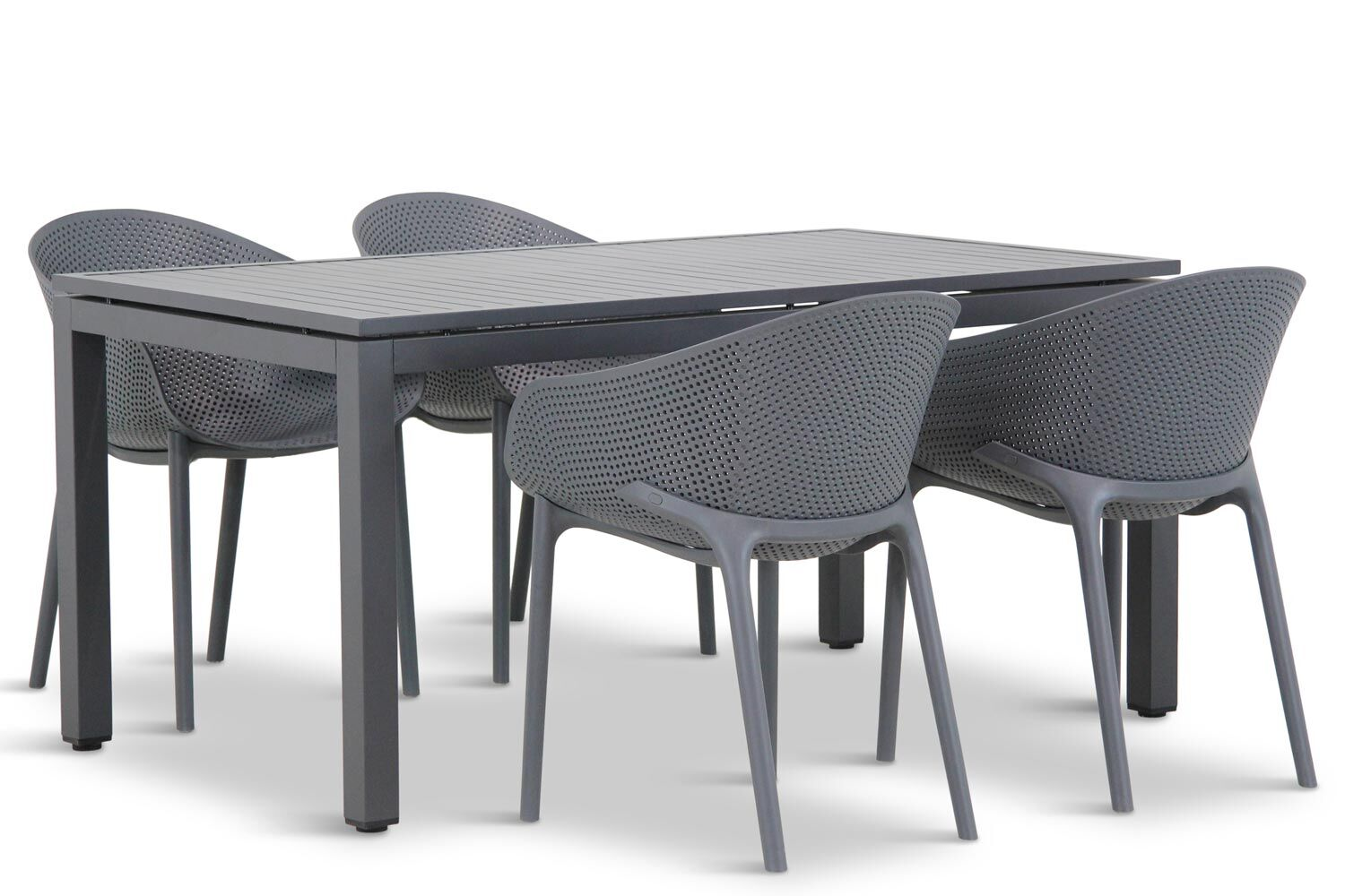 Lifestyle Sky/Concept 160 cm dining tuinset 5-delig