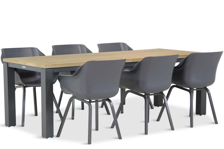 Hartman Sophie element/Veneto 230 cm dining tuinset 7-delig