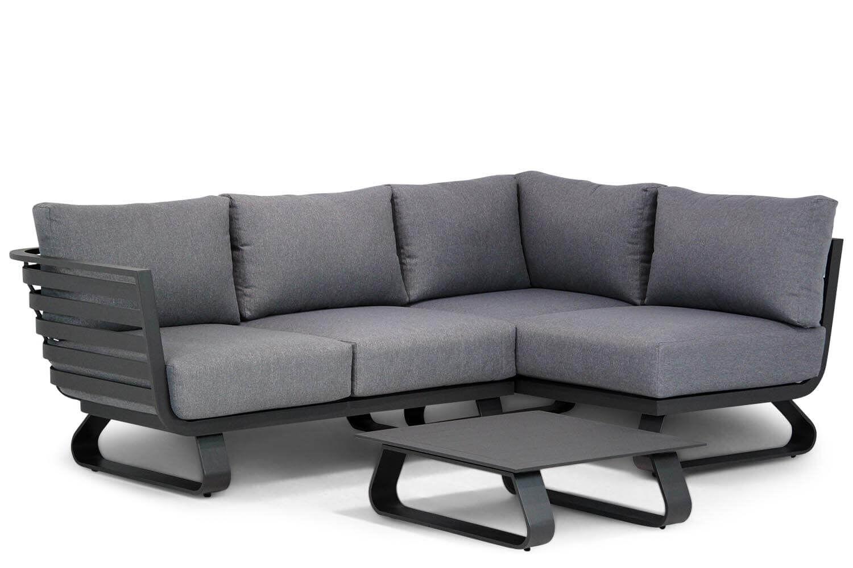 Santika Sovita chaise longue loungeset 4-delig