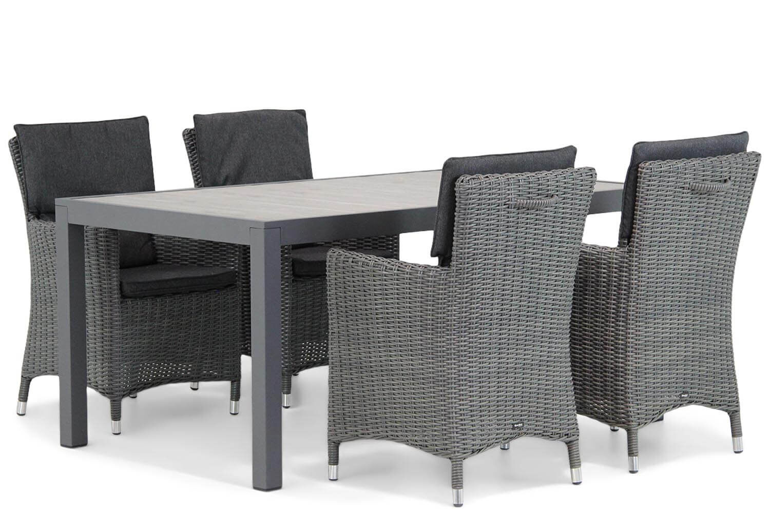 Garden Collections Springfield/Residence 164 cm dining tuinset 5-delig