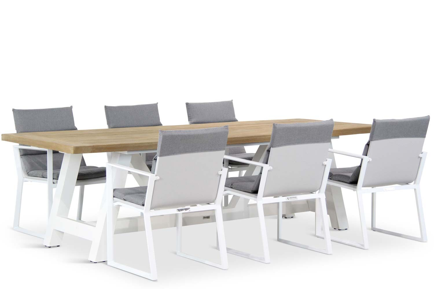 Lifestyle Treviso/Florence 260 cm dining tuinset 7-delig