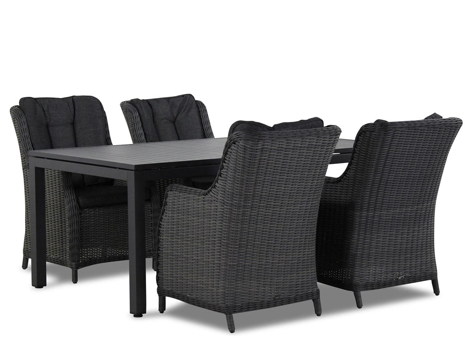 Garden Collections Buckingham/Concept 180 cm dining tuinset 5-delig