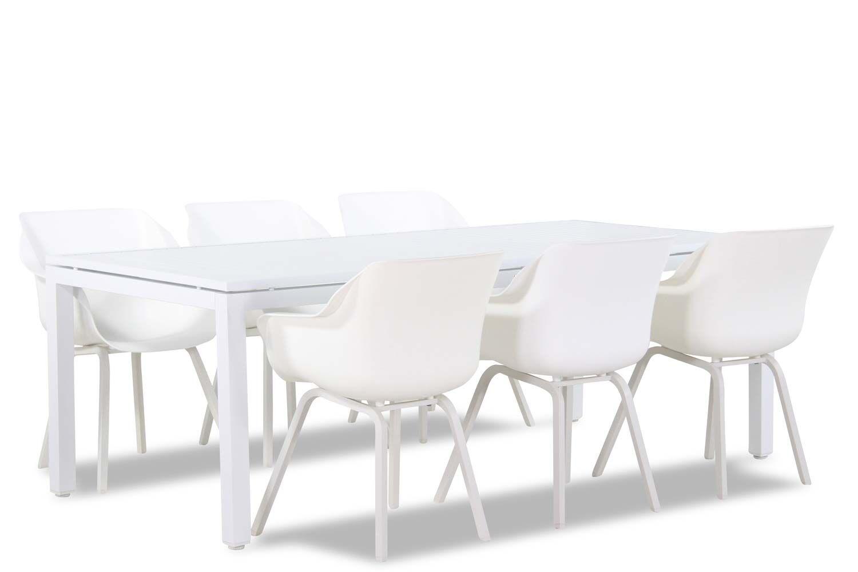 Hartman Sophie element/Concept 220 cm dining tuinset 7-delig