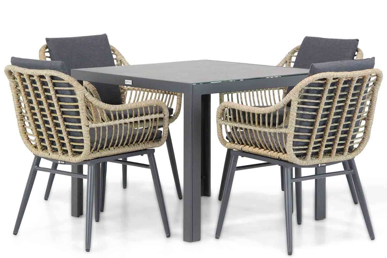 Coco Leonardo/Varano 90 cm dining tuinset 5-delig
