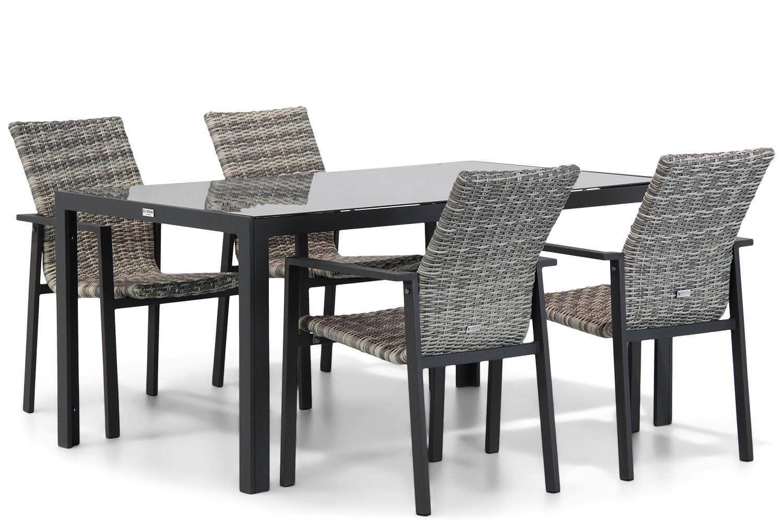 Lifestyle Upton/Mondello 160 cm dining tuinset 5-delig