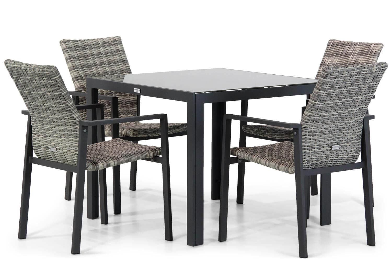 Lifestyle Upton/Mondello 90 cm dining tuinset 5-delig