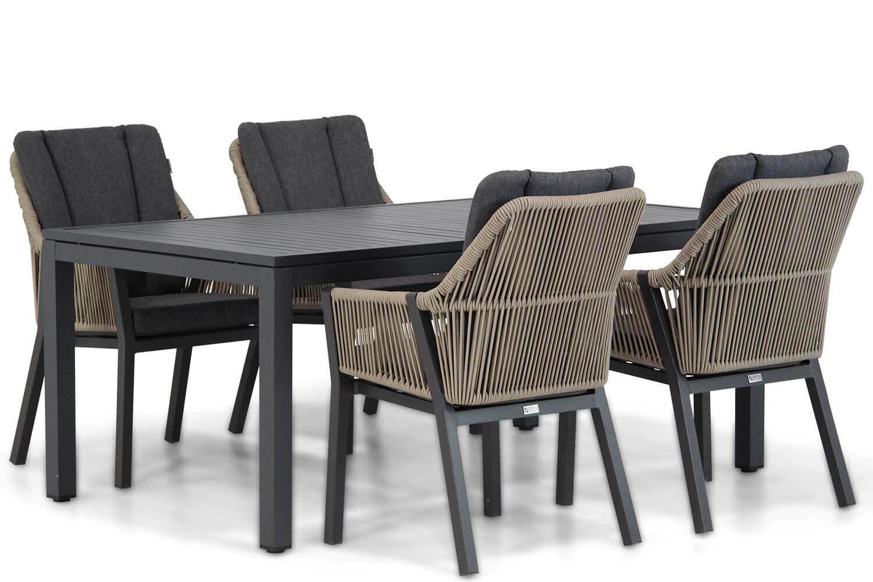 Lifestyle Verona/Concept 180 cm dining tuinset 5-delig
