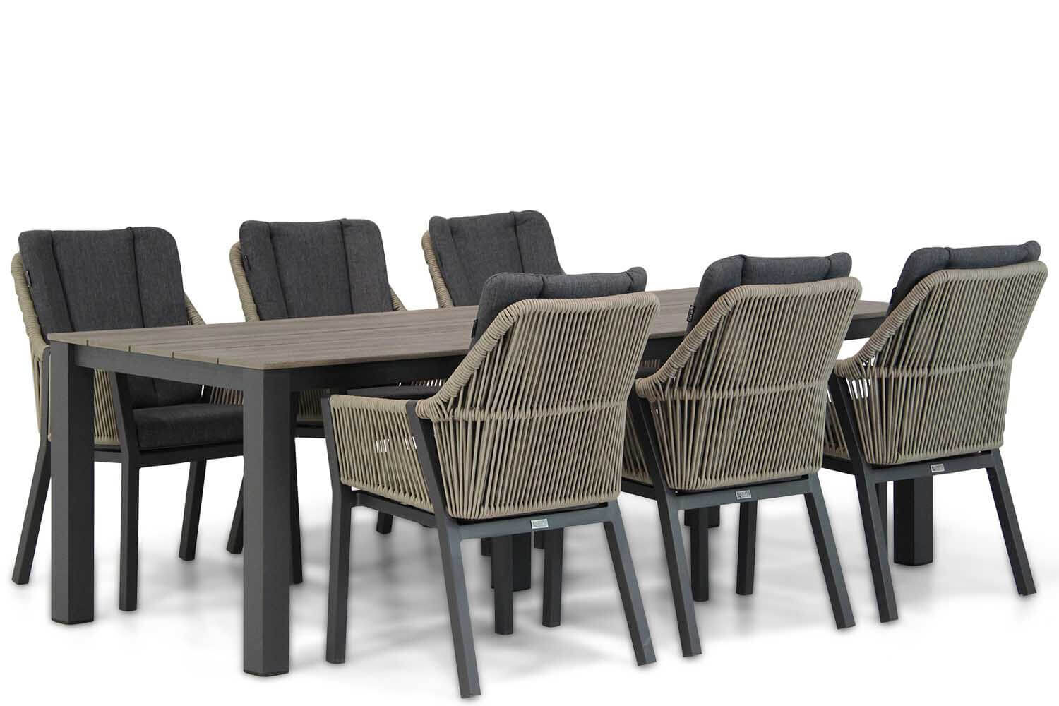 Lifestyle Verona/Valley 240 cm dining tuinset 7-delig