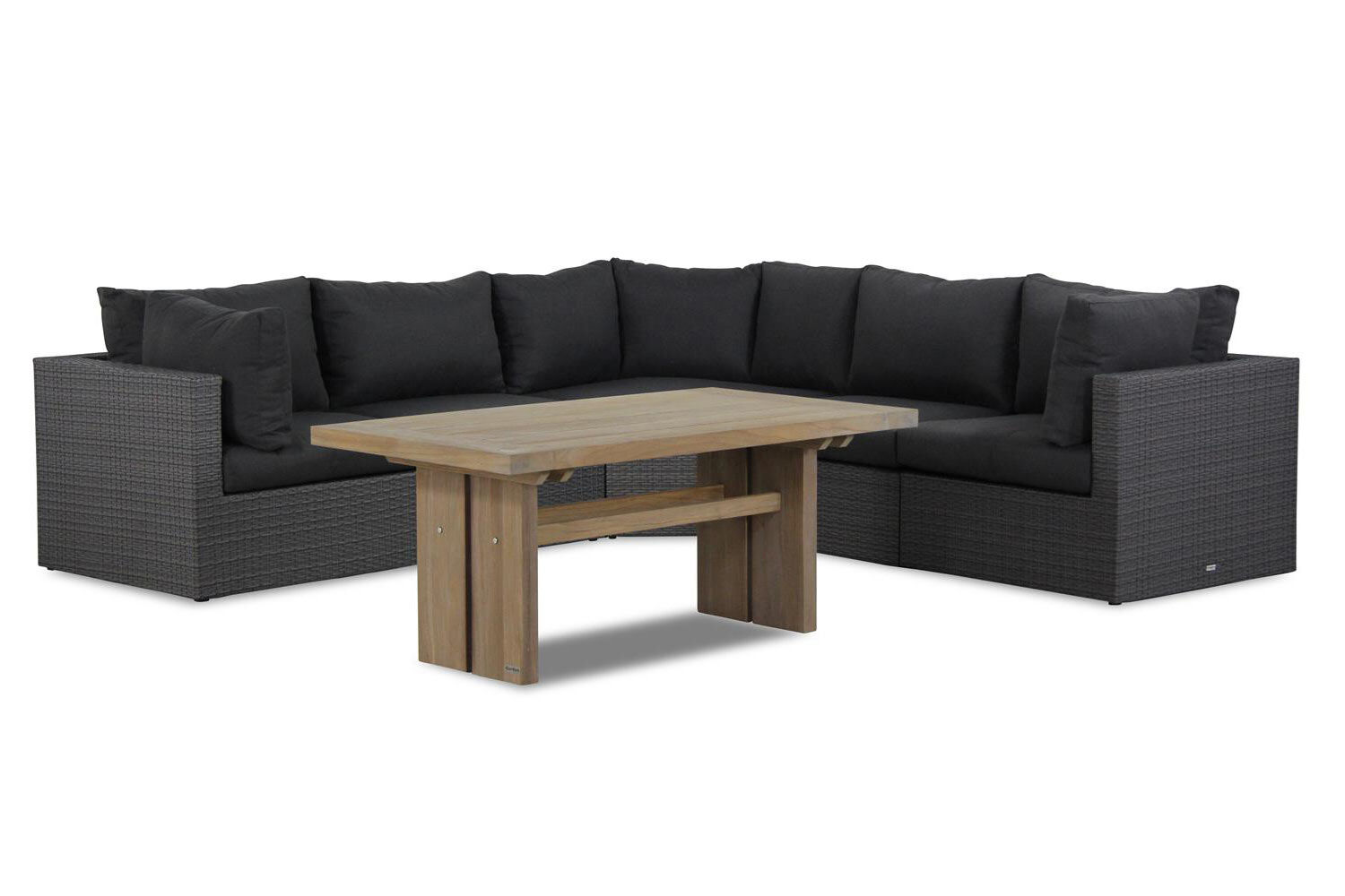 Garden Collections Houston/Brighton dining loungeset 6-delig 2