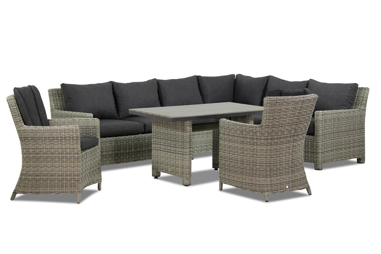Garden Collections Lusso/Venerdi dining loungeset 7-delig