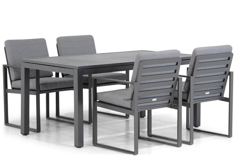 Santika Zaga/Concept 160 cm dining tuinset 5-delig