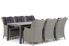 Garden Collections Aberdeen/Residence 220 cm dining tuinset 7-delig