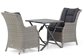 Garden Collections Aberdeen/Nicola 70 cm dining tuinset 3-delig