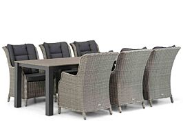 Garden Collections Aberdeen/Valley 240 cm dining tuinset 7-delig