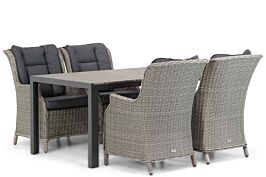 Garden Collections Aberdeen/Young 155 cm dining tuinset 5-delig