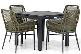 Coco Adali/Concept 90 cm dining tuinset 5-delig