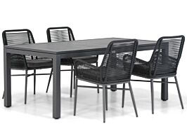 Coco Adali/Concept 160 cm dining tuinset 5-delig